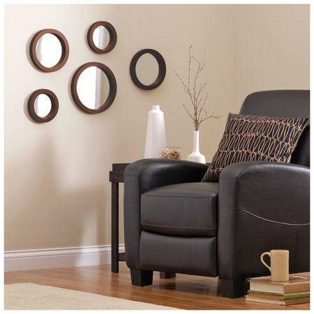 Mainstays 5 Piece Mirror Set Available In Multiple Colors