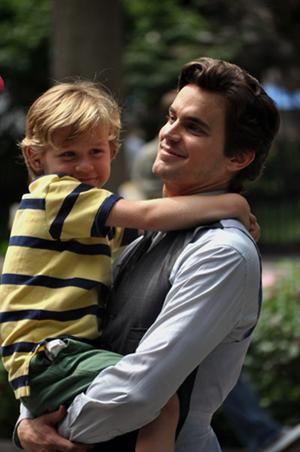 Matt Bomer & his son