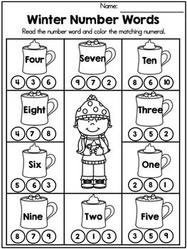 Winter Math Worksheets Kindergarten By United Teaching Teachers P Winter Math Worksheets Kindergarten Math Worksheets Kindergarten Math Worksheets Counting