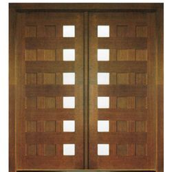 Milan 12 Panel 6lt E 04 In 2020 Wood Exterior Door Wood Front Entry Doors Wood Entry Doors