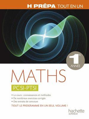 Livre Maths Pcsi Ptsi Hprepa Tout En Un 1er Annee Pdf Analyse Numerique Livre Livres A Telecharger Gratuitement