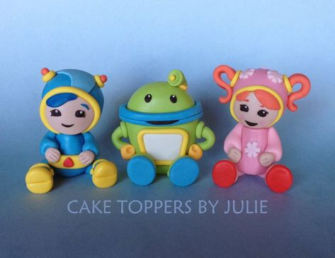 Team Umizoomi Cake Toppers