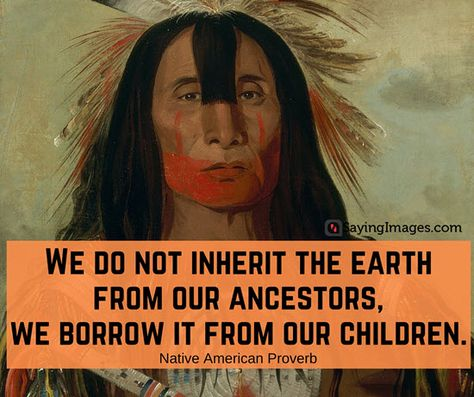 60 Native American Quotes, Sayings and Wisdom