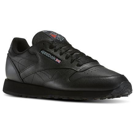 reebok shoes men black