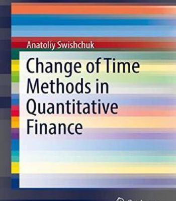 Pdf finance quantitative in methods