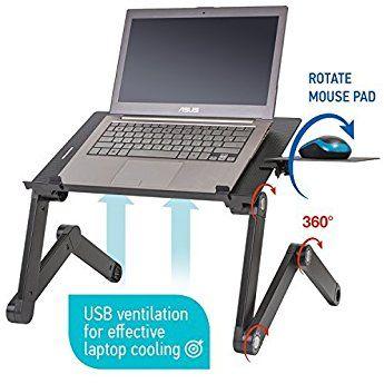 Wonder Worker Einstein Adjustable Laptop Stand Desk Table