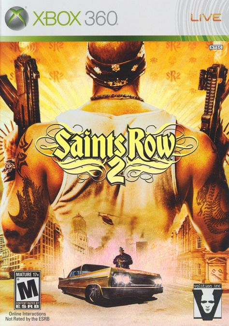 Saints Row 2 - These Saints Row games are usually pretty buggy, but they are fun as hell to play. Always over the top GTA style. Played in 2010 on Xbox360.