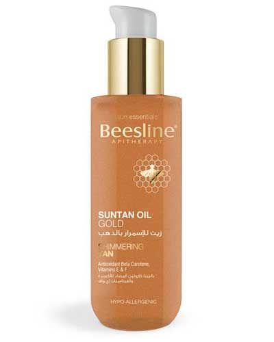 منتجات بيزلين لتسمير البشرة و الحصول علي بشرة برونزية Beesline Products For Tanning And Bronze Skin 4 Sun Tan Oil Sun Tan Shampoo Bottle