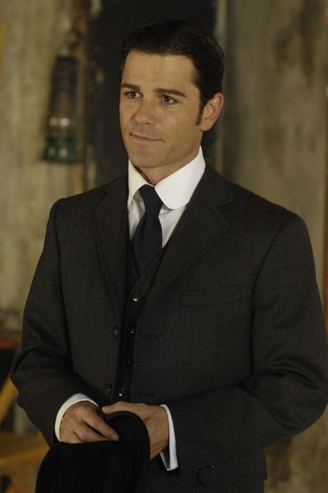 """Yannick Bisson. (who is known for playing Detective William Murdoch in """"Murdoch Mysteries"""" and F.B.I agent Jack Hudson in """"Sue Thomas F.B.Eye"""".)"""