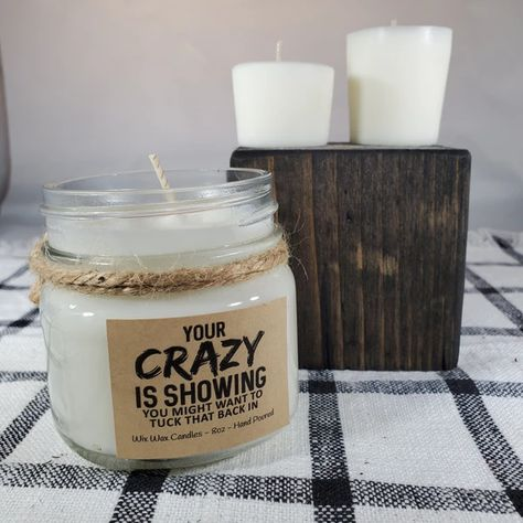 Soy Candle Novelty UR MY PPL Soy Wax Candle with Wood Wick Best Gifts Funny Gifts Unique Coworker Gifts Gift Humor Friend Gifts