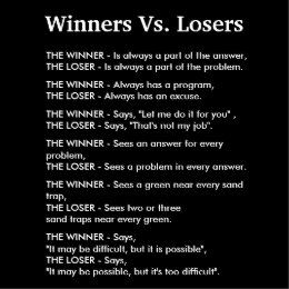 Winners Vs Losers Poster Zazzle Com In 2021 Loser Quotes Winner Quotes Motivatinal Quotes