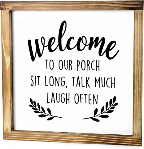 Amazon.com : porch welcome sign tall