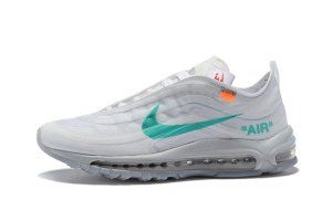 Womens Off White x Nike Air Max 97 OG Off White Wolf Grey