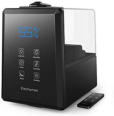Elechomes UC5501 Ultrasonic Humidifier 6L Vaporizer Warm