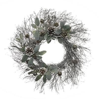 20 Poinsettia Frosted Berry And Leaf Wreath Christmas Twig Wreaths Leaf Wreath Dried Floral Wreaths