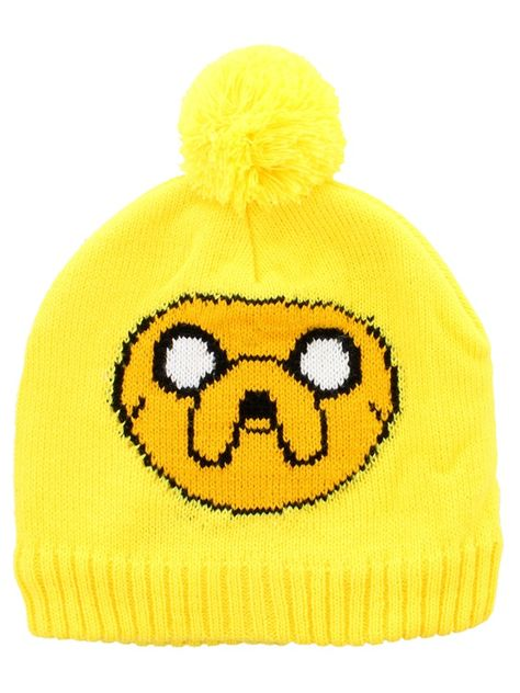 8666950a619 Adventure Time Jake Yellow Bobble Beanie