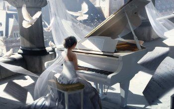 230 Piano Hd Wallpapers Background Images Wallpaper Abyss Page 8 Dark Fantasy Art Anime Art Girl Anime Scenery Wallpaper
