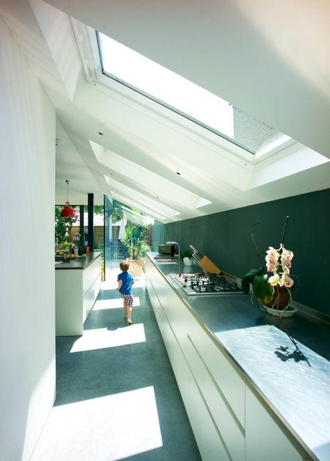 169 best Agrandissement et véranda maison images on Pinterest - maison toit en verre