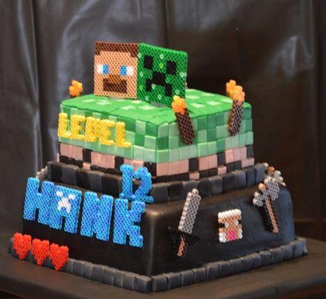 Minecraft Cake!!