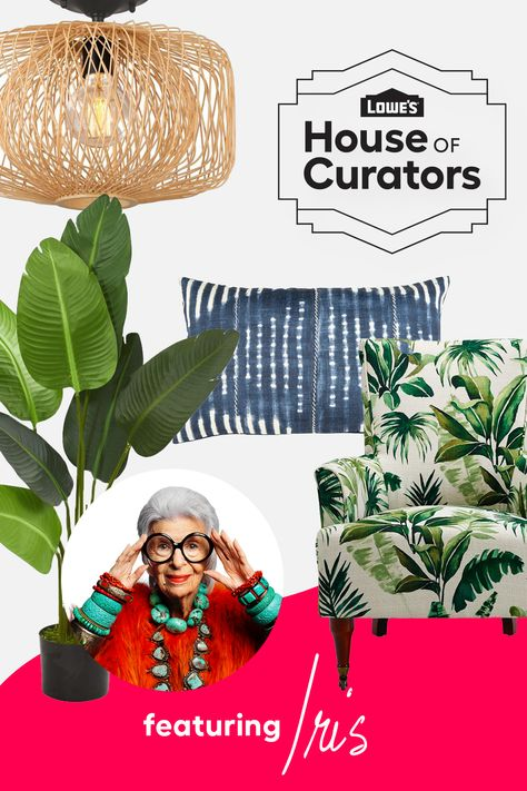 We've connected with some of our oh-so-stylish friends to help you uncover covetable style at uncompromising value. Shop four bold curations from style icon Iris Apfel before they're gone!