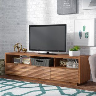 Modern Contemporary Tv Stands Entertainment Centers Allmodern Living Room Units Tv Stand Modern Design Tv Stand Designs
