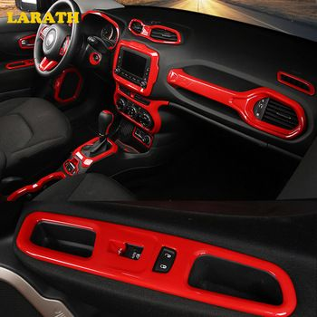 LARATH Car Styling Car Accessories Interior Part Trim Frame Sticker Cover For Jeep Renegade 2015 2016 2017