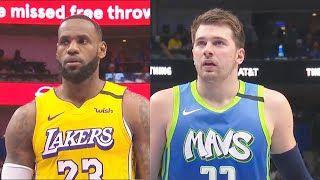 Los Angeles Lakers Vs Dallas Mavericks Full Game Highlights Los Angeles Lakers Vs Dallas Mavericks January 10 2019 20 Nba Season In 2020 Nba Season Lakers Vs Lakers