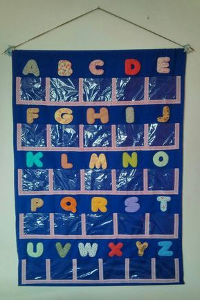 Alfabeto Decorado Decoracao Para Sala De Aula 2014 A Petilola Tem