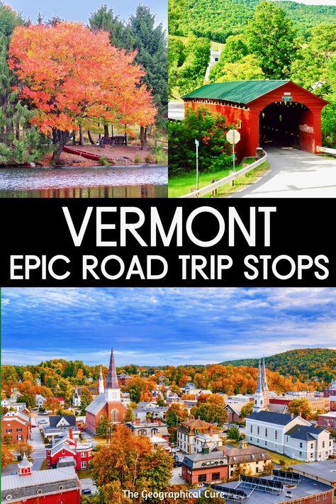 East Coast Travel, East Coast Road Trip, New England Fall Foliage, Fall Vacations, New England Travel, Travel Usa, Beach Travel, Vacation Spots, Vermont
