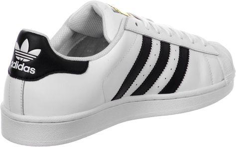 adidas Superstar J W schoenen wit zwart (met afbeeldingen ...