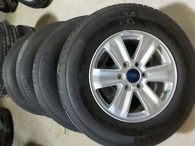 4 Ford F150 Factory 17 Alloy Wheels Michelin Tires 2020 729f 09