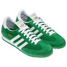 adidas green dragon shoes