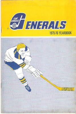 Hockey Programs Flint Generals Yearbook Ihl 1975 76 Yearbook Kontinental Hockey League Fort Wayne Komets