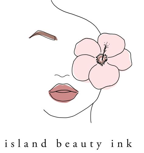 Branding for Island Beauty Ink — Annika Layne