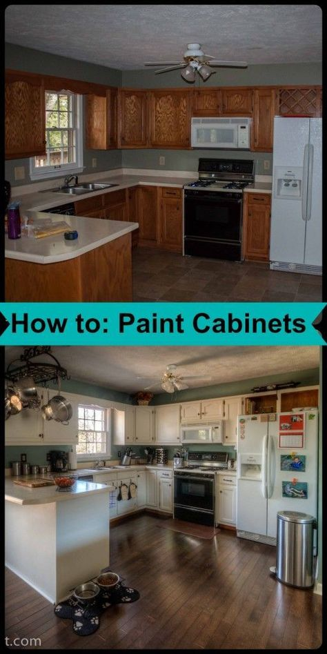 Best Bonding Primer For Kitchen Cabinets Part - 48: How To: Paint Cabinets- Love, Pasta And A Tool Belt | Remodel | · Repainting  Kitchen ...