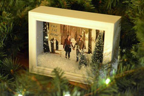Flocked Christmas Trees Moose Leather Passport Holder Cover Case Blocking Travel Wallet