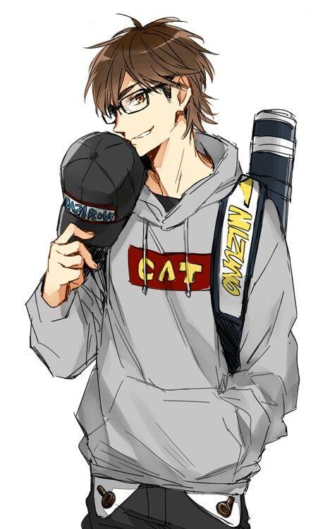 Hot Anime Boy Hoodie : anime, hoodie, Anime, Glasses, Ideas, Guys,, Glasses,