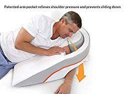 side sleeper pillow sore shoulder