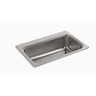 Akdy 32 X 22 Drop In Kitchen Sink With Basket Strainer Drop In Kitchen Sink Single Bowl Kitchen Sink Sink