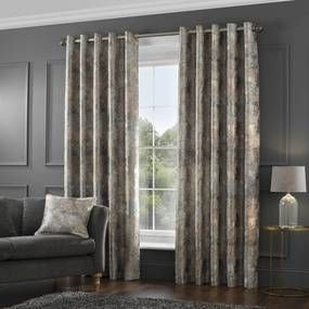 5a Fifth Avenue Serenity Lined Eyelet Curtains Curtains