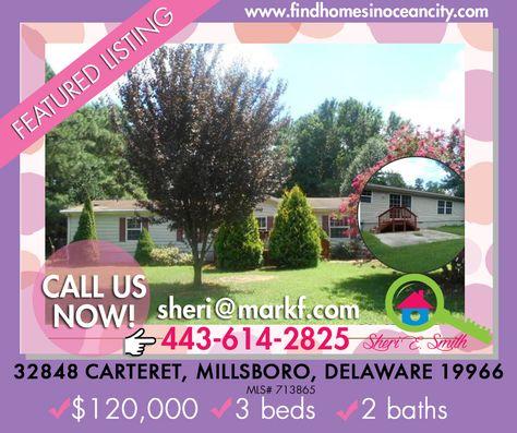 Featured Listing: 32848 Carteret, Millsboro, Delaware 19966