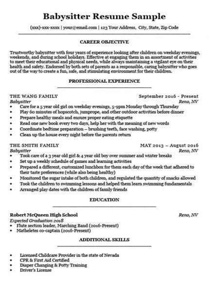 High School Resume Template Writing Tips Resume Companion