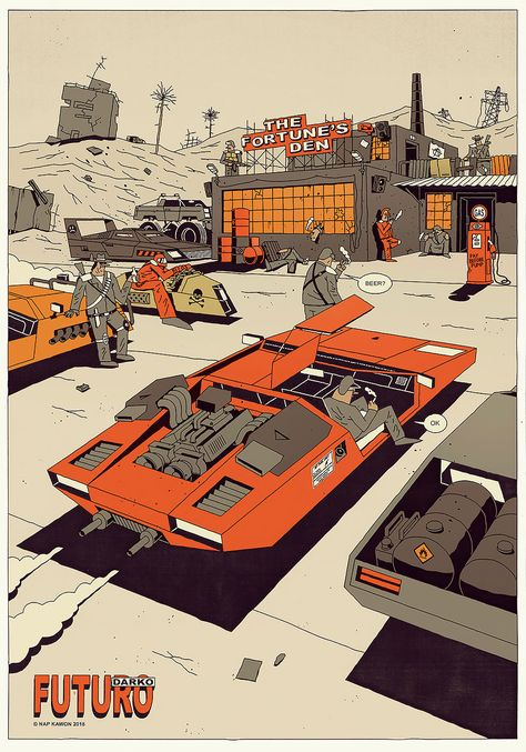 Superb Vector Illustrations By The Polish Artist Krzysztof Nowak