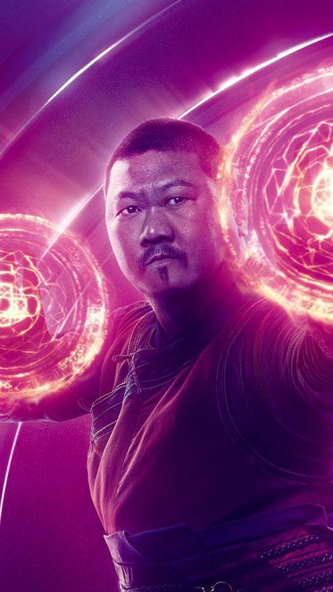 Wong In Avengers Infinity War 4K Ultra HD Mobile Wallpaper