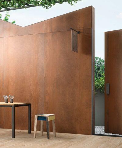 Kainotomes Epifaneies Lambrileta Kypros Concrete Decor Metal Wall Panel Timber Panelling