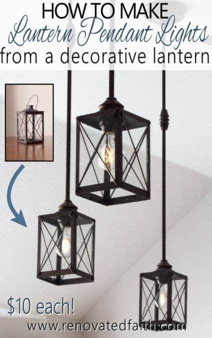 New Farmhouse Lighting Fixtures Diy Edison Bulbs 51 Ideas Farmhouse Diy Chandelier Makeover Diy Pendant Light Diy Light Fixtures