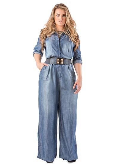 fashion bug plus size denim jumpsuit. sizes 1x 2x 3x 4x 5x www
