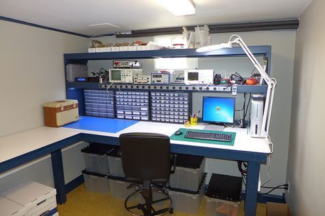 Building an Electronics/Small Projects Workbench