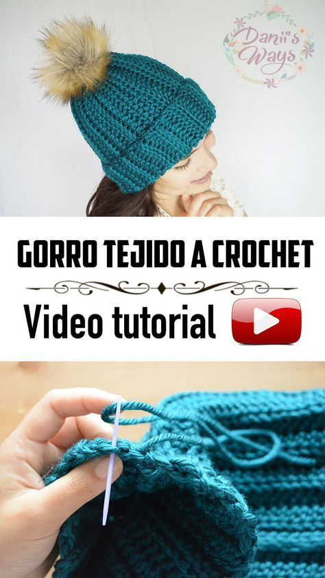 Como Aprender A Tejer Crochet Para Principiantes Nuevo Video Tutorial Aprende A Tejer El Gorro Costa Paso A Paso
