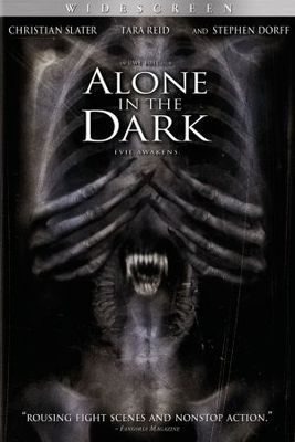 Alone In The Dark Poster Cinema Livre Musique